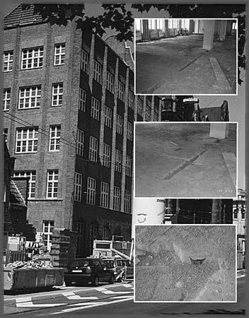 Baustellendokumentation zu Sanierungsmaßnahmen