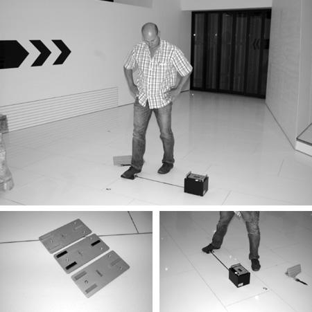 GMG 200 Prüfung der Rutschhemmung (des Gleitwiderstandes) von Fußboden-Oberflächen nach DIN 51131