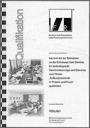Qualifikationsnachweis in Verbindung mit Chef-Seminaren für Industrie, Handel und Handwerk