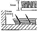 Als 'Faustregel': Zwischen Nagelleiste und Wand ist ein Zwischenraum von ca. 2/3 der Teppichbodendicke freizulassen